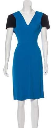 Bergdorf Goodman Short Sleeve Midi Dress