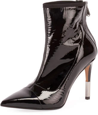 Balmain Blair Patent Leather 95mm Bootie