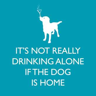 Paper Products If Dog Is Home Paper Cocktail Napkins, Set of 20