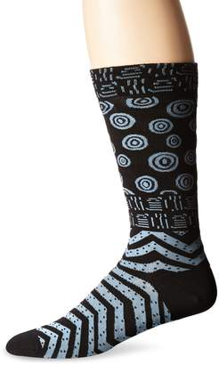 Laurèl Burch Men's Shapes Crew Sock