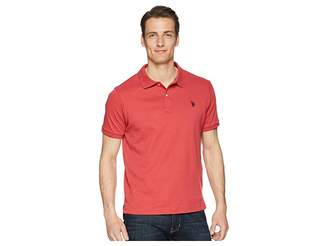U.S. Polo Assn. Classic Interlock Polo Shirt Men's Short Sleeve Pullover