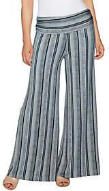 Lisa Rinna Collection Petite PrintedPalazzo Pants