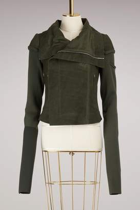 Rick Owens Forest Leather Jacket