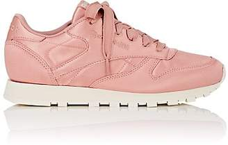 Reebok Women's Classic Satin Sneakers - Md. Pink
