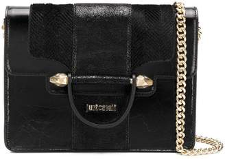 Just Cavalli briefcase style shoulder bag