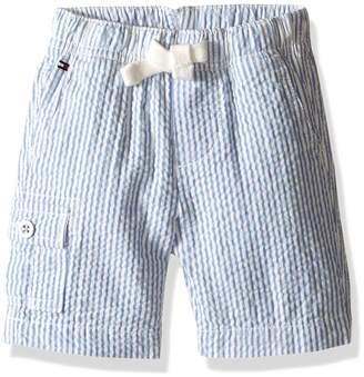 Tommy Hilfiger Nautica Baby Tom Seersucker Pull On Short