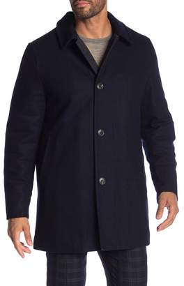Hart Schaffner Marx Barcelona Wool Blend Coat
