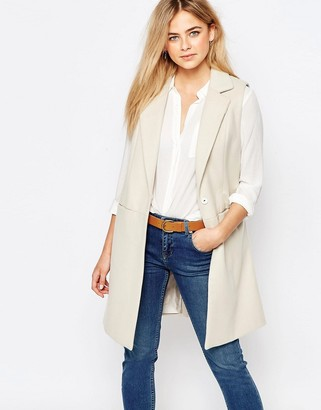 Oasis Premium Sleeveless Coat $122 thestylecure.com
