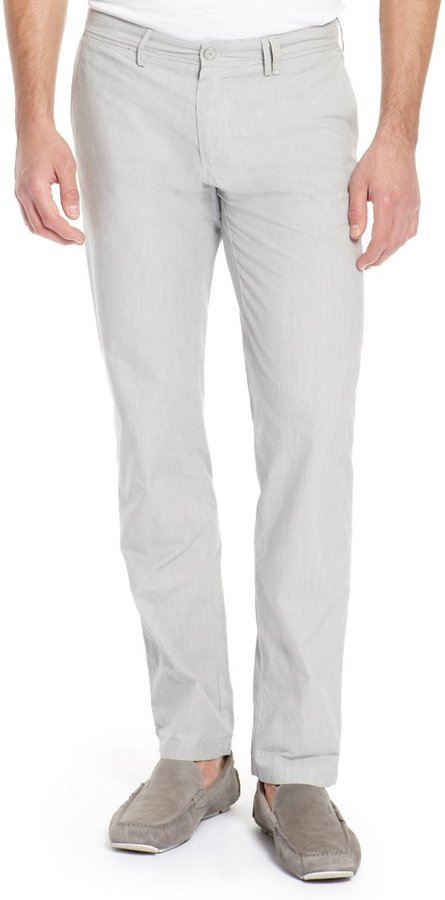 HUGO BOSS 'Crigan-W' | Regular Fit, Cotton Casual Pants by BOSS