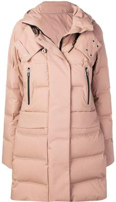 Peuterey hooded quilted coat
