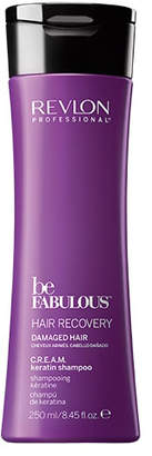 Revlon Professional Be Fabulous Hair Recovery Damaged Hair C.R.E.A.M. Keratin Shampoo