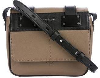 Rag & Bone Leather Flap Crossbody Bag