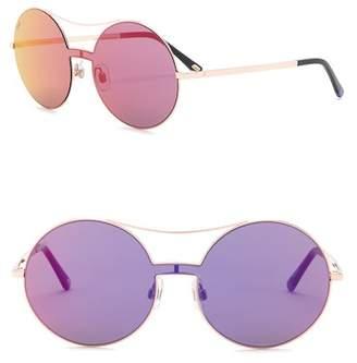 Web WE0211 Round Aviator Metal 128mm Sunglasses