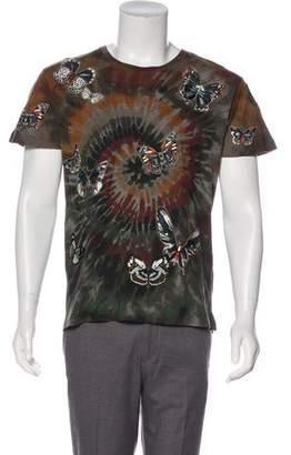 Valentino Tie-Dye Butterfly T-Shirt