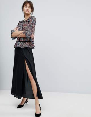 d.RA Polina Maxi Slit Side Skirt