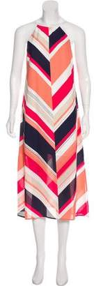 Laundry by Shelli Segal Sleeveless Midi Dress w/ Tags