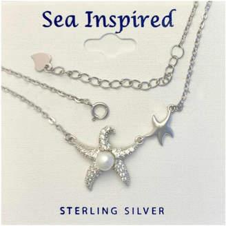 Presco Starfish Double / Pearl Necklace