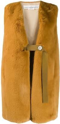 Golden Goose faux fur gilet coat