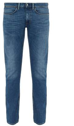 Acne Studios Max Washed Slim Fit Jeans - Mens - Blue