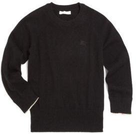 Burberry Little Boy's & Boy's Cashmere Sweater $220 thestylecure.com
