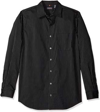 c77fbab3c7d22 Van Heusen Men s Big and Tall Traveler Stretch Non Iron Long Sleeve Shirt
