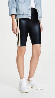 Norma Kamali Side Stripe Bermuda Bike Shorts