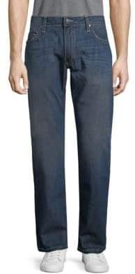 Putty Top Stitch Cotton Jeans