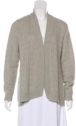 Ralph Lauren Black Label Cashmere Cable Knit Cardigan