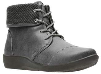 Clarks Sillian Frey Lace-Up Boot - Wide Width Available
