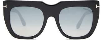 Tom Ford Thea 02 Square Frame Acetate Sunglasses - Womens - Black