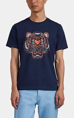 c258f3d67db4 Kenzo Men's Tiger-Print Cotton T-Shirt - Navy