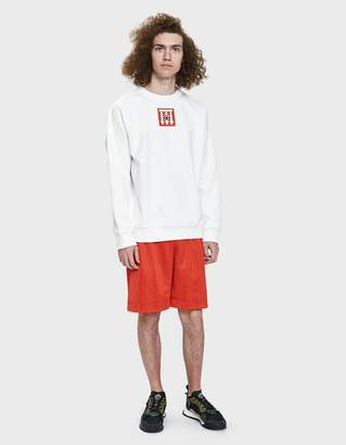 Alexander Wang Adidas X AW Soccer Short in Red