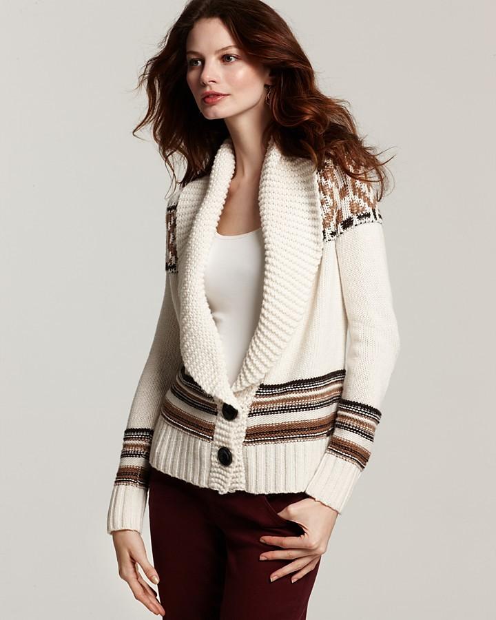 GUESS Fair Isle Sweater
