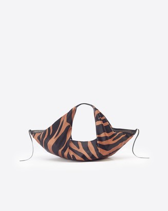3.1 Phillip Lim Luna Large Zebra Printed Slouchy Hobo