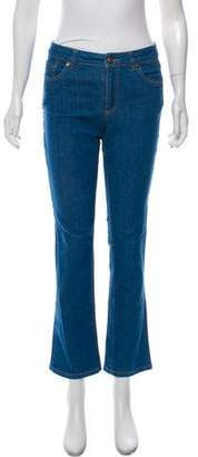 Trademark Mid-Rise Bootcut Jeans