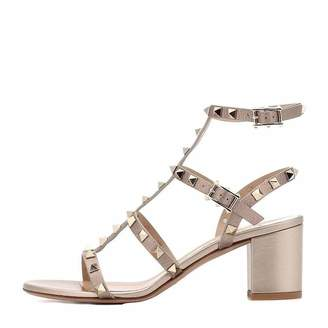 dd3e5a9020 Comfity Sandals for Women,Rivets Studded Strappy Block Heels Slingback Gladiator  Shoes Cut Out Dress