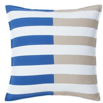 Southern Tide Skipjack Chino Pieced Accent Pillow