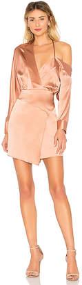 Mason by Michelle Mason Off Shoulder Mini Dress