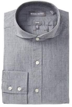 Michael Bastian Trim Fit English Plaid Dress Shirt