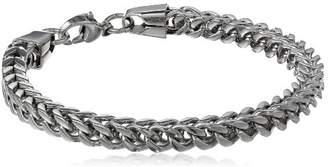 Men's Stainless Steel 6mm Foxtail Chain Bracelet