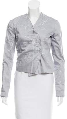 Tess Giberson Embroidered Cropped Jacket