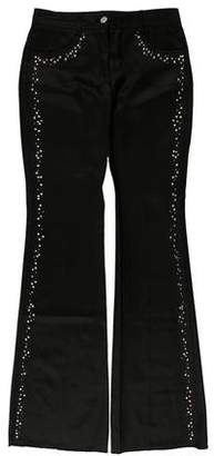 Chloé Embellished Mid-Rise Jeans