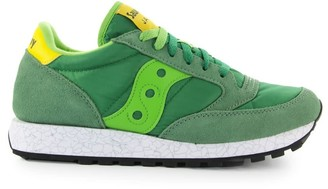 Saucony Jazz Green Yellow Sneaker