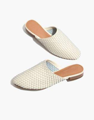 Madewell The Cassidy Woven Mule