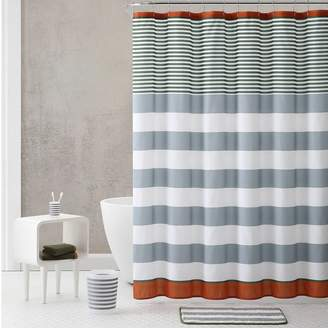 Vcny VCNY Stripe Shower Curtain & Accessories Bath Set