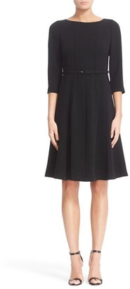 Women's Lafayette 148 New York Amalie Finesse Crepe Dress $548 thestylecure.com