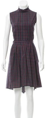 Boy. by Band of Outsiders Plaid A-Line Dress w/ Tags $265 thestylecure.com