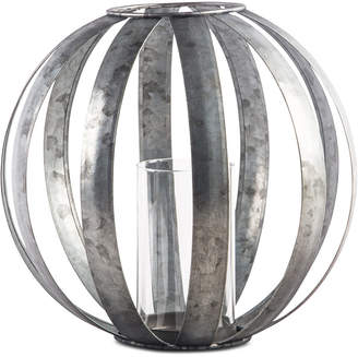"Home Essentials 8"" Galvanized Sphere Votive Lantern"