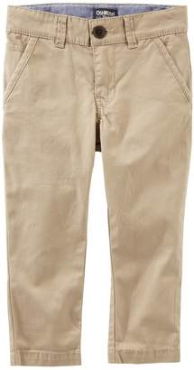 Osh Kosh Oshkosh Bgosh Boys 4-12 Chino Khaki Pants