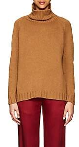 Barneys New York Women's Cashmere Turtleneck Sweater-Camel